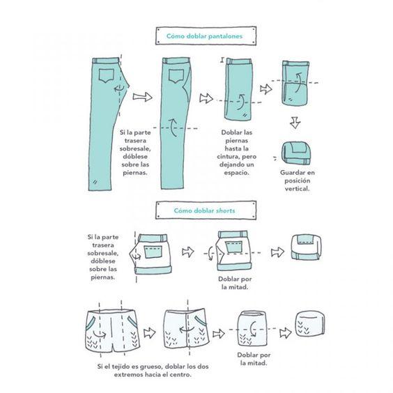 Como dobrar Calça