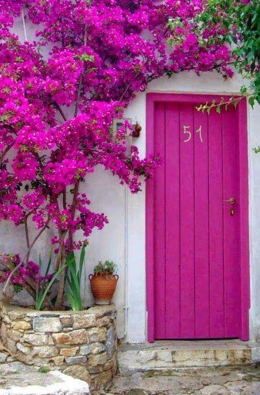 portas rosa pink