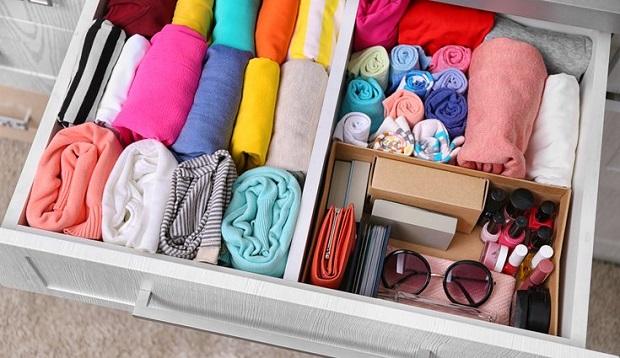 ideias de organização de gavetas