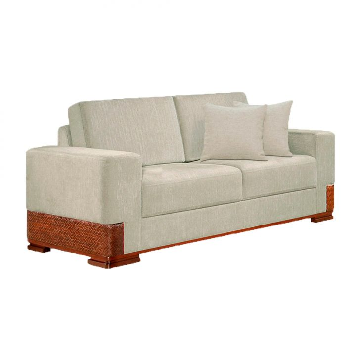 sofá bege claro