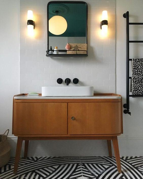 Reforma de Banheiro - Luminárias