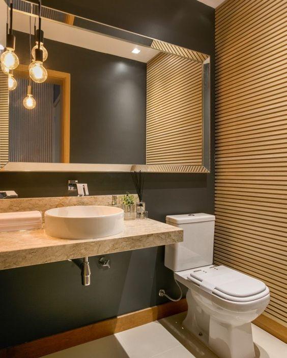 Reforma de banheiro - arandelas