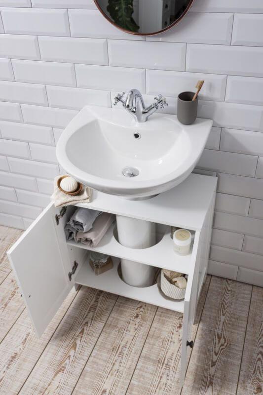 Reforma de Banheiro - Armário para pia