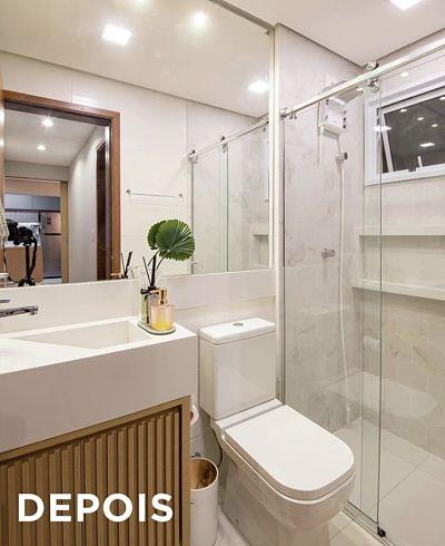 Projeto de Banheiro Pequeno