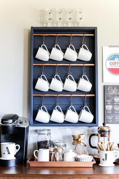 12 Inspirações: Decoração Cantinho do Café 1