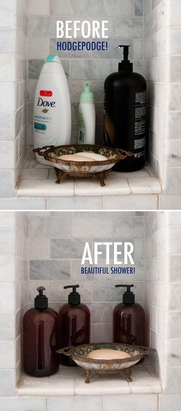 diy organizador de banheiro