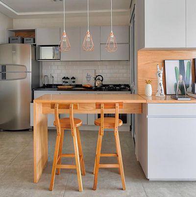 Cozinhas Americanas Pequenas: + 16 inspirações