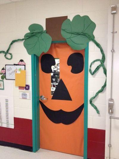 Decoração de Halloween para escola com papel