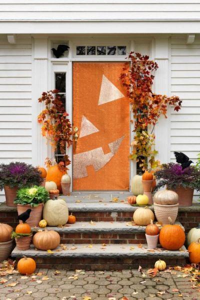 Decoração de simples para Halloween