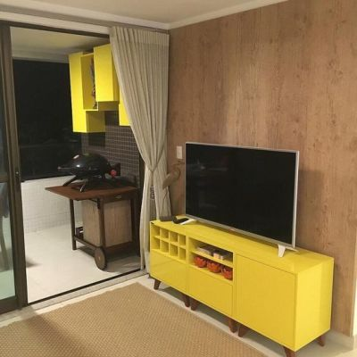 Sala amarela  - Tons de amarelo