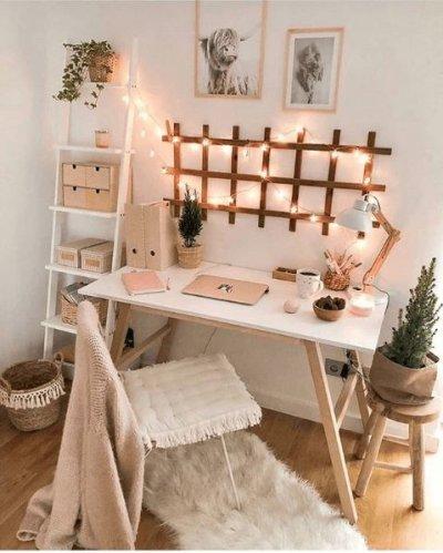 Home office pequeno no quarto