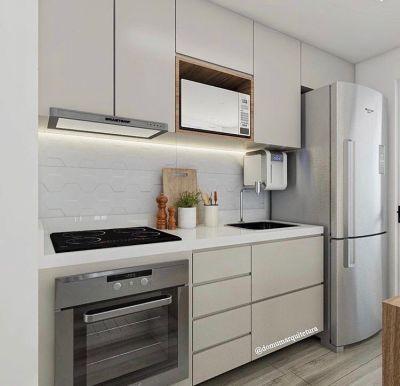 Cozinha planejada apartamento