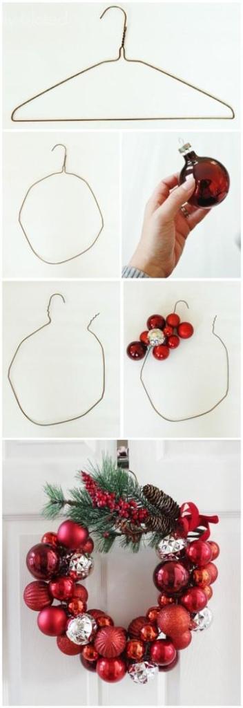 Como fazer uma guirlanda de Natal