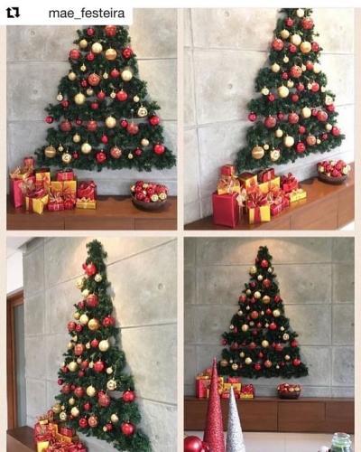Decoração de Natal na parede