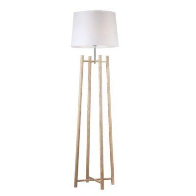 Luminária de chão branca