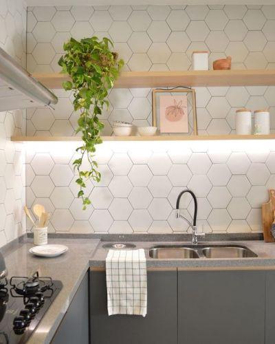 Plantas para apartamento - cozinha