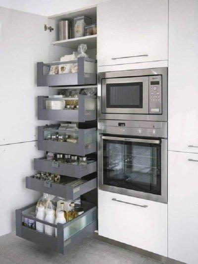 Marcenaria criativa na cozinha