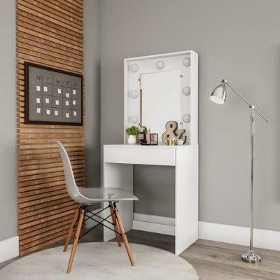 Como decorar ambientes com penteadeiras simples: + de 25 inspirações