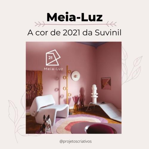 Tintas suvinil para 2021: meia-luz