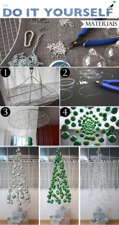 Árvore de Natal Criativa: + 40 Inspirações fáceis de fazer