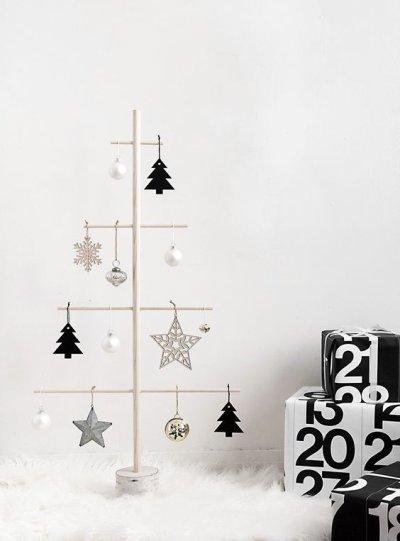 Árvore de Natal minimalista