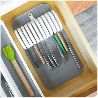 Organizador de facas na gaveta