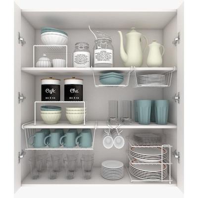 Kit organizador de armário de cozinha