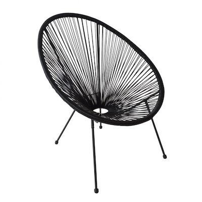 Móveis para varanda: Comprar cadeira acapulco preta para varanda