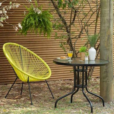 Comprar cadeira acapulco amarela para varanda
