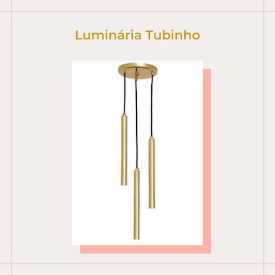 comprar Luminária pendente moderna tubinhos