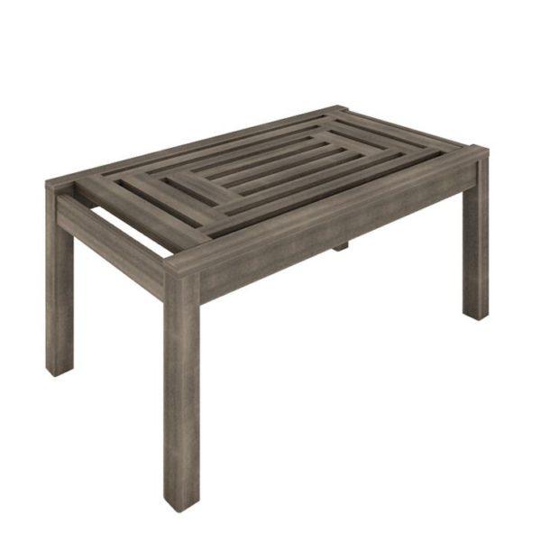 Comprar mesa de centro de madeira para varanda
