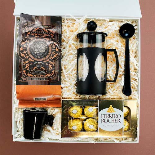 Cesta kit café dia das mães