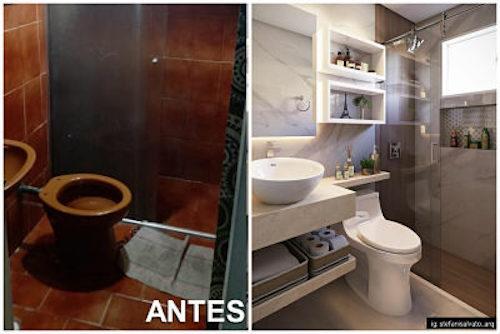 Reforma de Banheiro Pequeno: dicas e inspirações