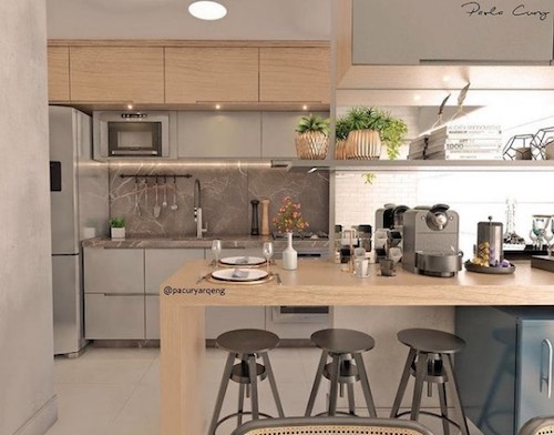 Cozinha Americana: conheça mais sobre esse design que caiu na graça dos brasileiros