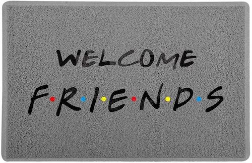Capacho para entrada de casa Welcome seriado Friends