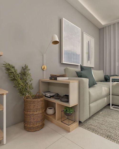 Decoração de sala pequena: 14 dicas para não errar + lindos projetos!